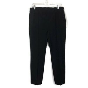 Lafayette 148 Front Seamed Pants Black